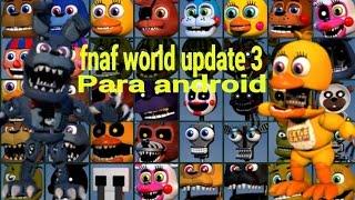 Fnaf World Fan made Screen update 3 (For ZombiewarsSMT ...