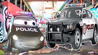 The Car Patrol: Fire Truck and Police Car Fight the Crime in Car City   Trucks cartoon for children