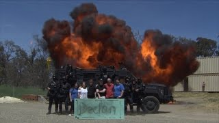 12-Year-Old Boy With Leukemia Gets Dream Wish To Detonate Explosives