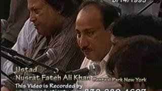 Nusrat Fateh Ali Khan in Central Park New York