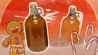 Peppermint Sunset & Gingerbread MAN UP | Mead Bottling