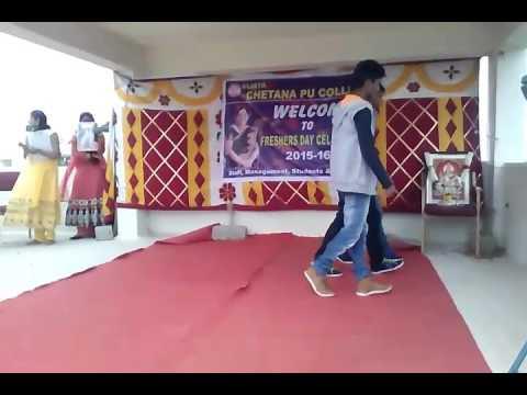 Collage dance in kannada nagarbhavi