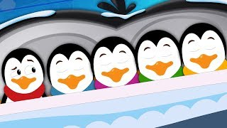 Five In The Bed Penguin | Song For Children | Kindergarten Nursery Rhyme For Babies by Kids Tv