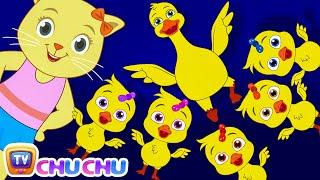 Five Little Ducks (SINGLE) | Nursery Rhymes by Cutians | ChuChu TV Kids Songs