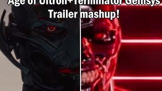 AVENGERS 2: AGE OF ULTRON + Terminator Genisys Trailer Mash-up