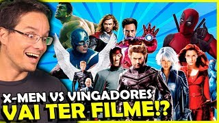 BOMBA! X-MEN VS VINGADORES NOS CINEMAS!!!