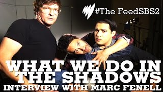 Rhys Darby & Taika Waititi with Marc Fennell I The Feed