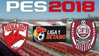PES 2018 - 2017-18 Liga 1 - DINAMO vs CFR CLUJ