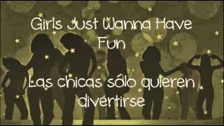 Cyndi Lauper - Girls Just Wanna Have Fun (subtitulada en español)