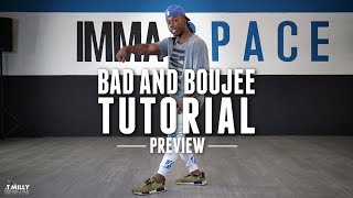 Bad and Boujee - TUTORIAL [Preview] - Willdabeast Adams Choreography