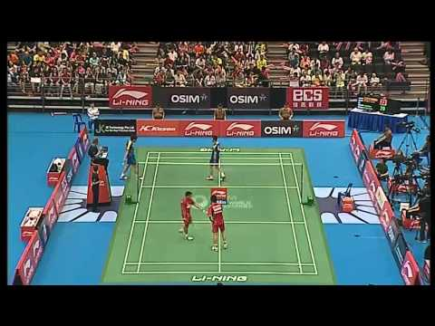 F - MD - M.Kido/H.Setiawan vs Ko S.H./Yoo Y.S. - 2012 Li-Ning Singapore Open