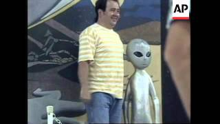 USA: ROSWELL UFO INCIDENT 50TH ANNIVERSARY PARTY IS LAUNCHED