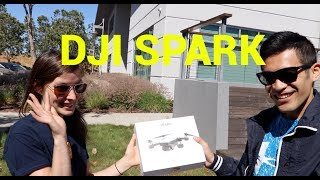 DJI Spark Drone - First look with Enjoy.com !!!