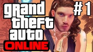 PEWDS & FRENDZ PLAY (GTAV Online #1)