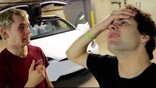 MY ROOMMATE CRASHED MY CAR!!