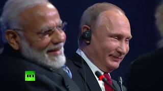 'You don't need a lawyer like me': Modi jokes as he is asked about Putin interfering in elections