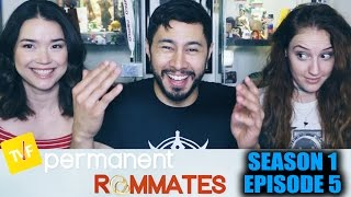 Permanent Roommates S01E05 Reaction w/ Achara & Hope Jaymes!