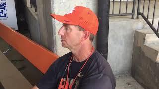 TigerNet: Dabo Swinney on August 16 scrimmage - Part 2