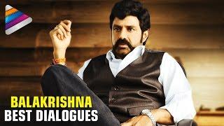 Balakrishna Best Dialogues   Best Dialogue Scenes   #HappyBirthdayBalayya   Telugu Filmnagar