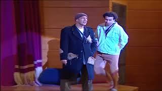 اشرف عبد الباقي و علي ربيع  نزلوا من علي المسرح شحتو من الجمهور ...#تياترو_مصر