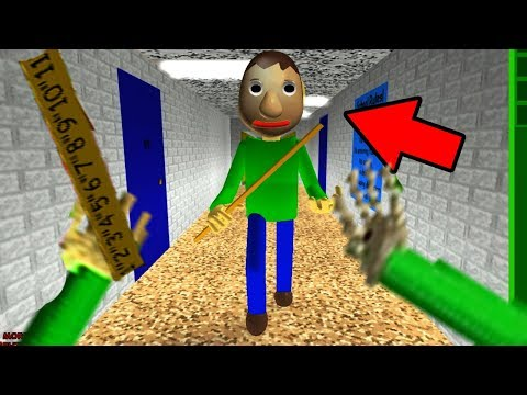 PLAY AS CREEPY BALDI Baldis Basics in Education and Learning ROBLOX NEW
