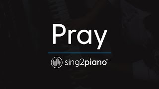 Pray [Piano Karaoke Instrumental] Sam Smith