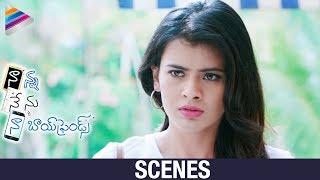 Hebah Patel Teases Noel Sean | Nanna Nenu Naa Boyfriends Movie Scenes | Tejaswi Madiwada | Kiraak RP