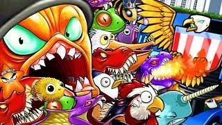 UNLIMITED TENTACLES MOD vs FINAL BOSS! - Octogeddon Mod | Pungence