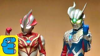 ウルトラマンゼロクリスマスショー ストロングコロナゼロ登場!! Ultraman Zero Christmas Live Strong Corona Zero appeared!