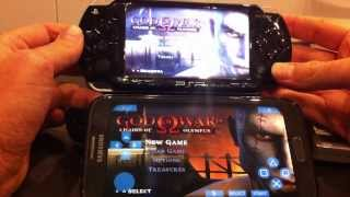PSP vs Android - God of War: Chains of Olympus [PPSSPP Emulator]