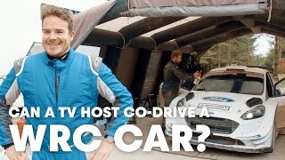 Stepping Up To Co-driving a WRC Car With Elfyn Evans | Mike Chen's WRC 2018 Part 3