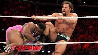 Big E vs. Rusev: Raw, March 21, 2016