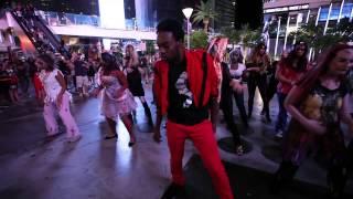 10.25.14 Thriller Flash Mob - Planet Hollywood Las Vegas
