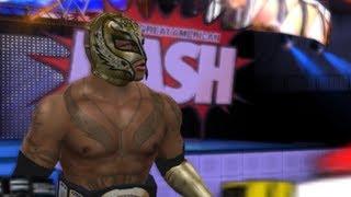 WWE Smackdown Vs. Raw 2010 :Reymysterio VS. The Great Khali (PS2)