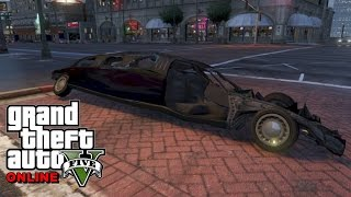 Ce poti face cu o limuzina in GTA 5 ONLINE /w baJetii - Te spargi de RAS !