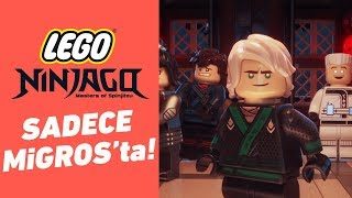 LEGO Ninjago Filmi Kamera Arkası Görüntüleri Sadece Migros