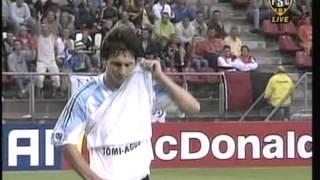 2005 (July 2) Argentina 2 -Nigeria 1 (Under 20 World Cup)