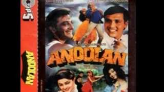 Dil To Khoya Hai [Full Song] (HD) With Lyrics - Andolan