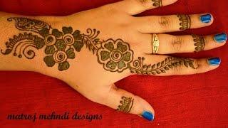 easy simple latest henna mehndi designs for hands floral mehndi designs for hands