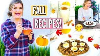 Healthy Breakfast Recipe Ideas ~ Fall Edition!