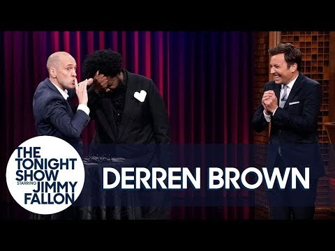Magician Derren Brown Guesses Jimmy s Crush and Hypnotizes Questlove