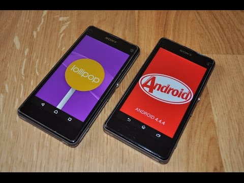Download Sony Xperia Z1 Compact Android 4 4 4 Kitkat Versus Android 5 0 2 Lollipop Video Mp4 3gp Flv Webm Terbaru