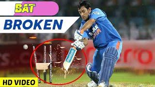 Top 14 Bats Broken Deliveries In Cricket Ever 2018 | Bat Broken In Cricket | AG Flex HD