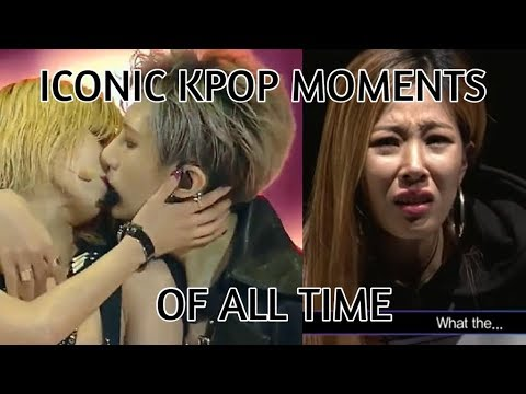 The most iconic kpop videos of all time! (funnylegendary moments!)