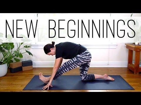 Yoga For New Beginnings     Yoga With Adriene