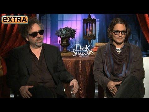 Johnny Depp on His Wild Sex Scenes in 'Dark Shadows'