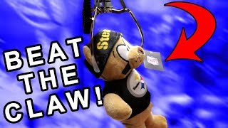 2 Tricks REVEALED to Beat a RIGGED Claw Machine!