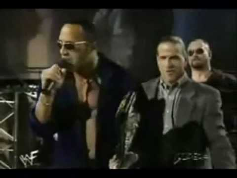 Raw Is War 1998 The Rock Makes Fun Of WCW Wrestlers And Argues With Triple H