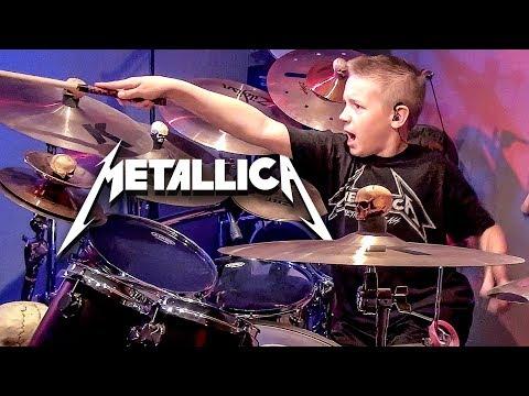 King Nothing (Drum Cover) 10 year old Drummer - Avery Drummer Molek