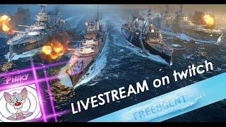 World of Warships [deutsch] – Live Stream Samstag 08.10.2016 mit Pinky